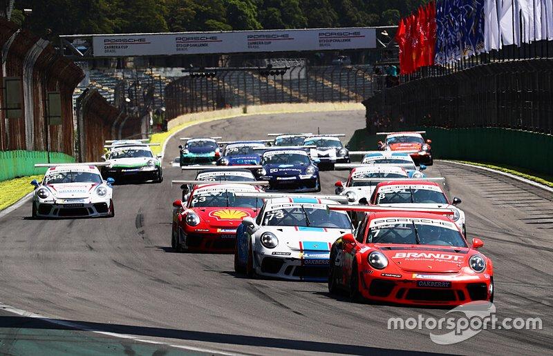 Largada da Carrera Cup - Porsche