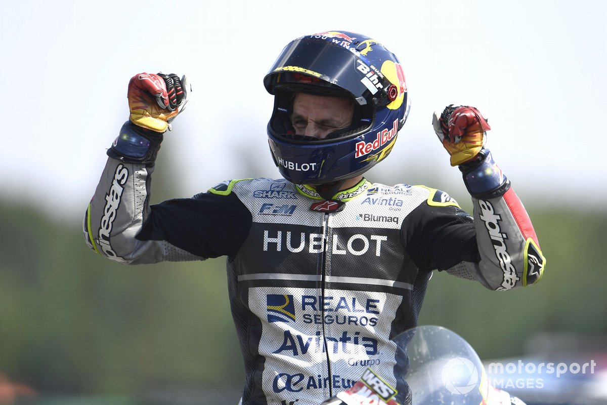 Tercer lugar Johann Zarco, Avintia Racing