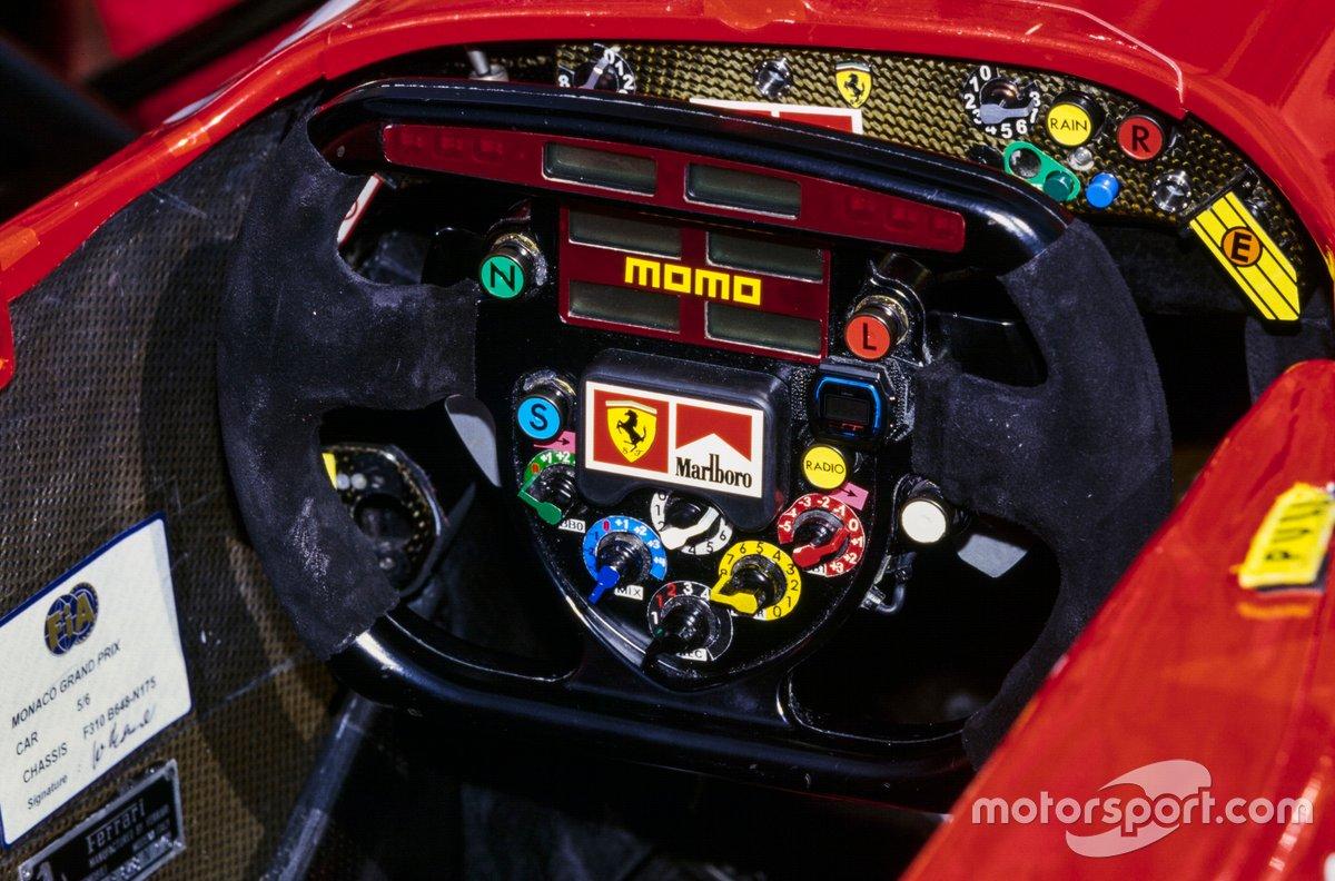 Руль Ferrari F310B на Гран При Монако 1997 года