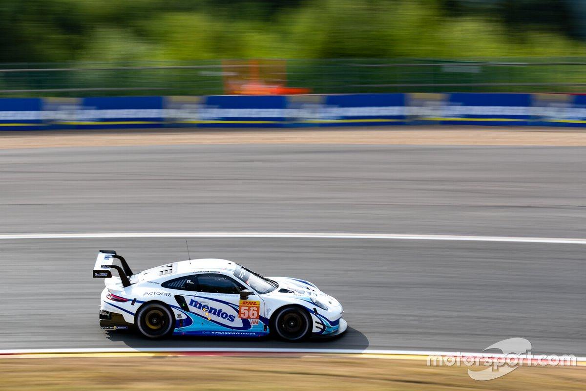 #56 TEAM PROJECT 1 - Porsche 911 RSR: Egidio Perfetti, Laurents Horr, Matteo Cairoli