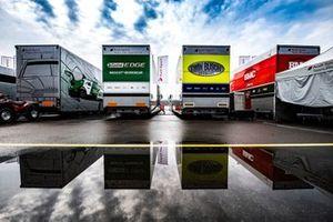 DTM-Renntransporter von Audi
