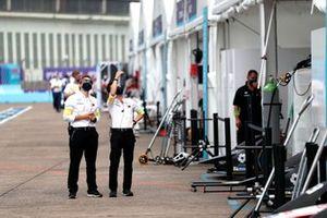Mercedes Benz EQ team