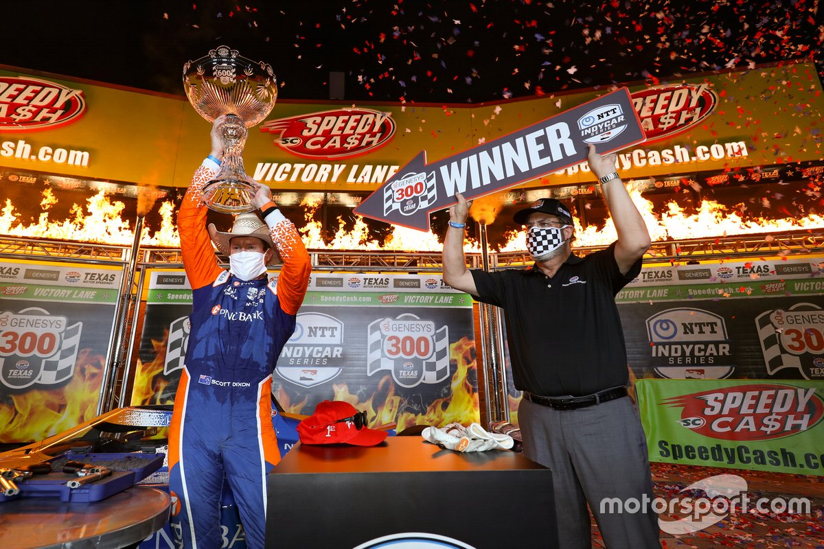 Ganador Scott Dixon, Chip Ganassi Racing Honda