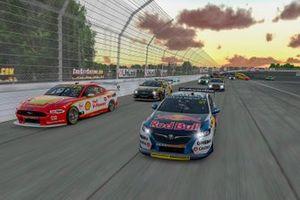 Shane van Gisbergen, Triple Eight Race Engineering, Scott McLaughlin, DJR Team Penske