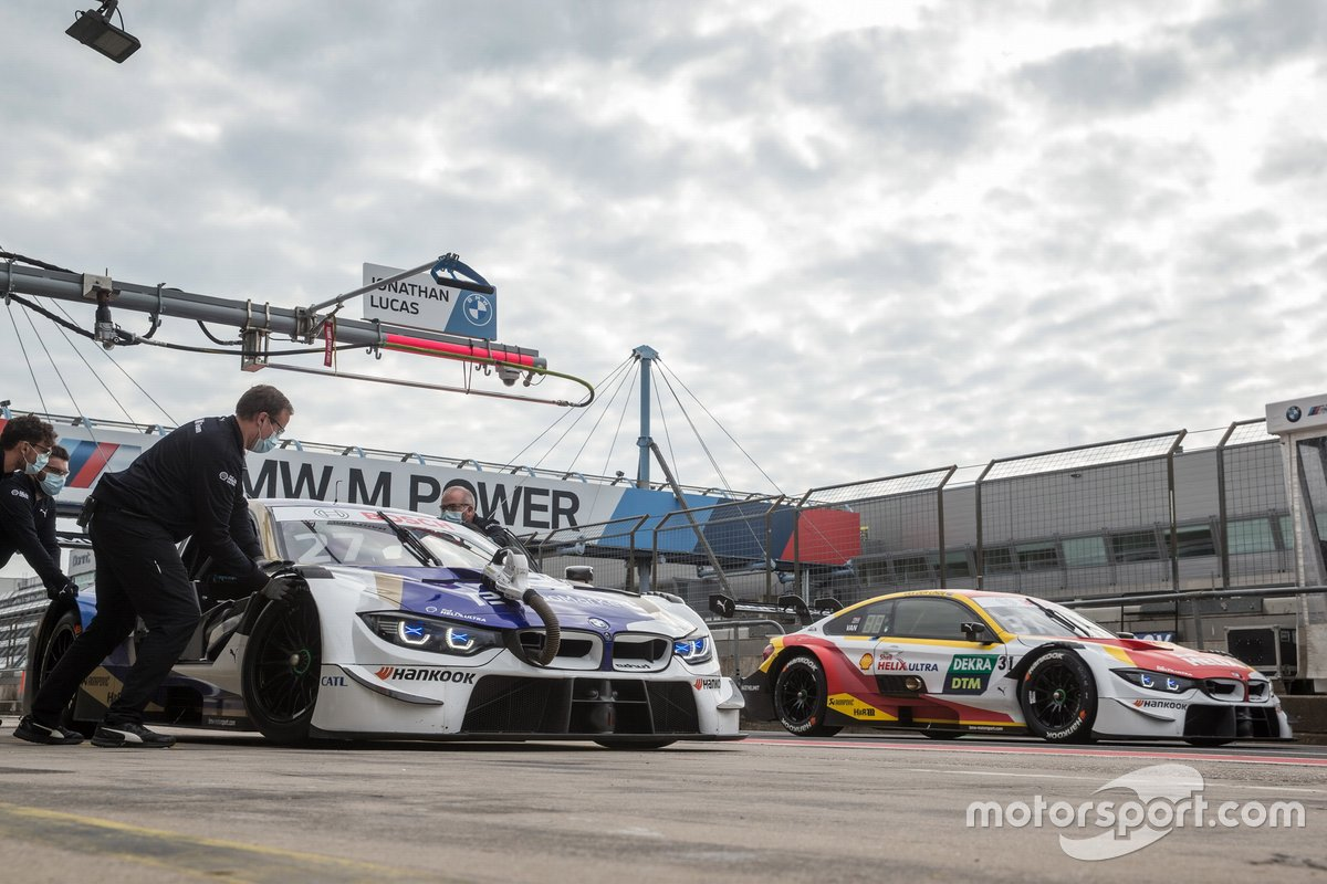 Philipp Eng, BMW Team RBM, BMW M4 DTM, Sheldon van der Linde, BMW Team RBM, BMW M4 DTM