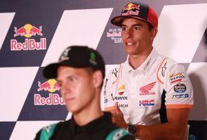 Marc Márquez, Repsol Honda Team, en la conferencia de prensa