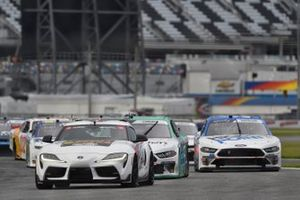 Toyota Supra Pace Car, Austin Cindric, Team Penske, Ford Mustang MoneyLion, Chase Briscoe, Stewart-Haas Racing, Ford Mustang HighPoint.com