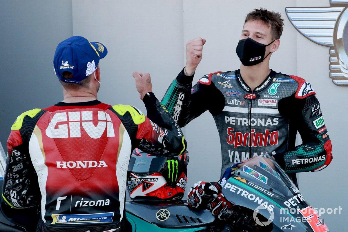 Cal Crutchlow, Team LCR Honda, Fabio Quartararo, Petronas Yamaha SRT