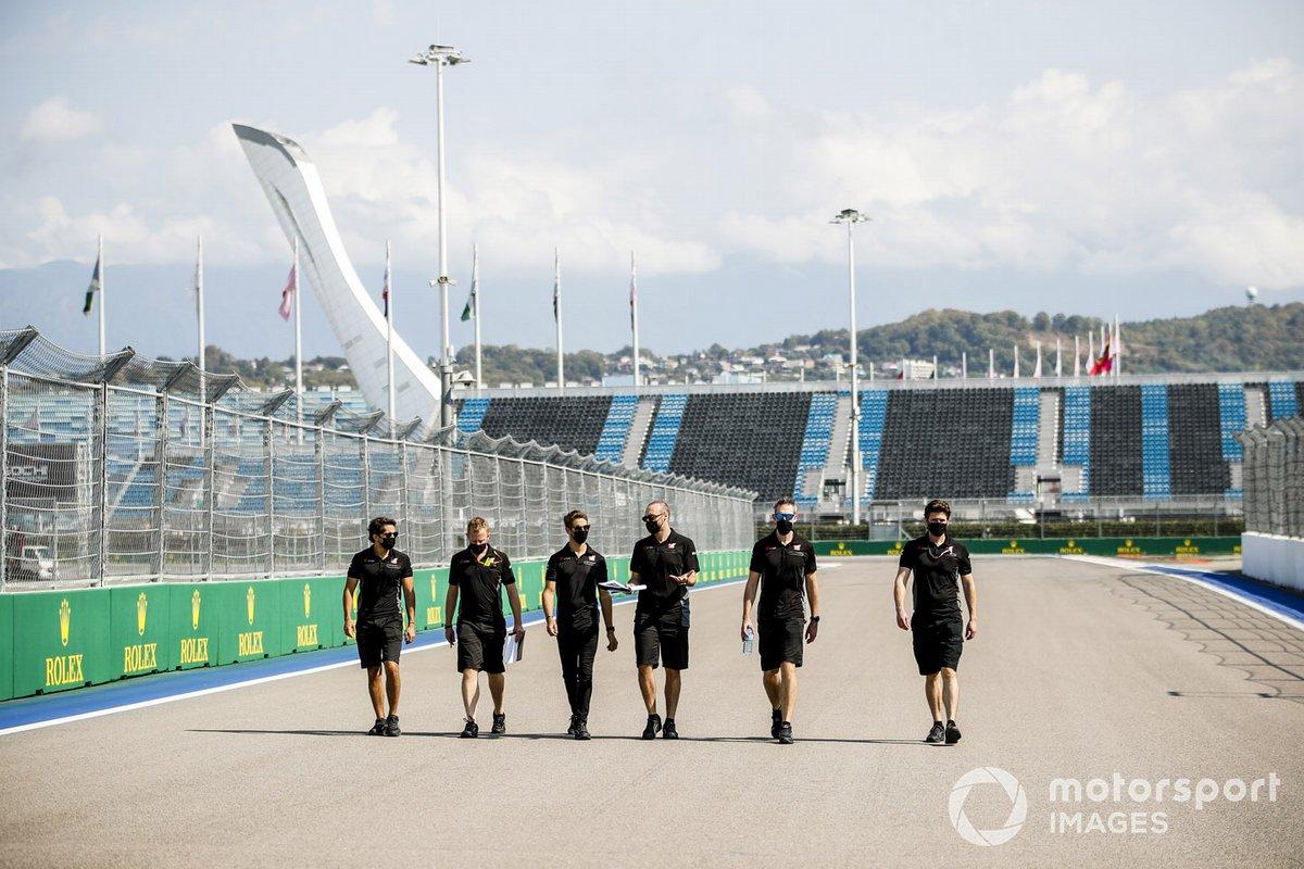 Romain Grosjean, Haas F1, recorre la pista