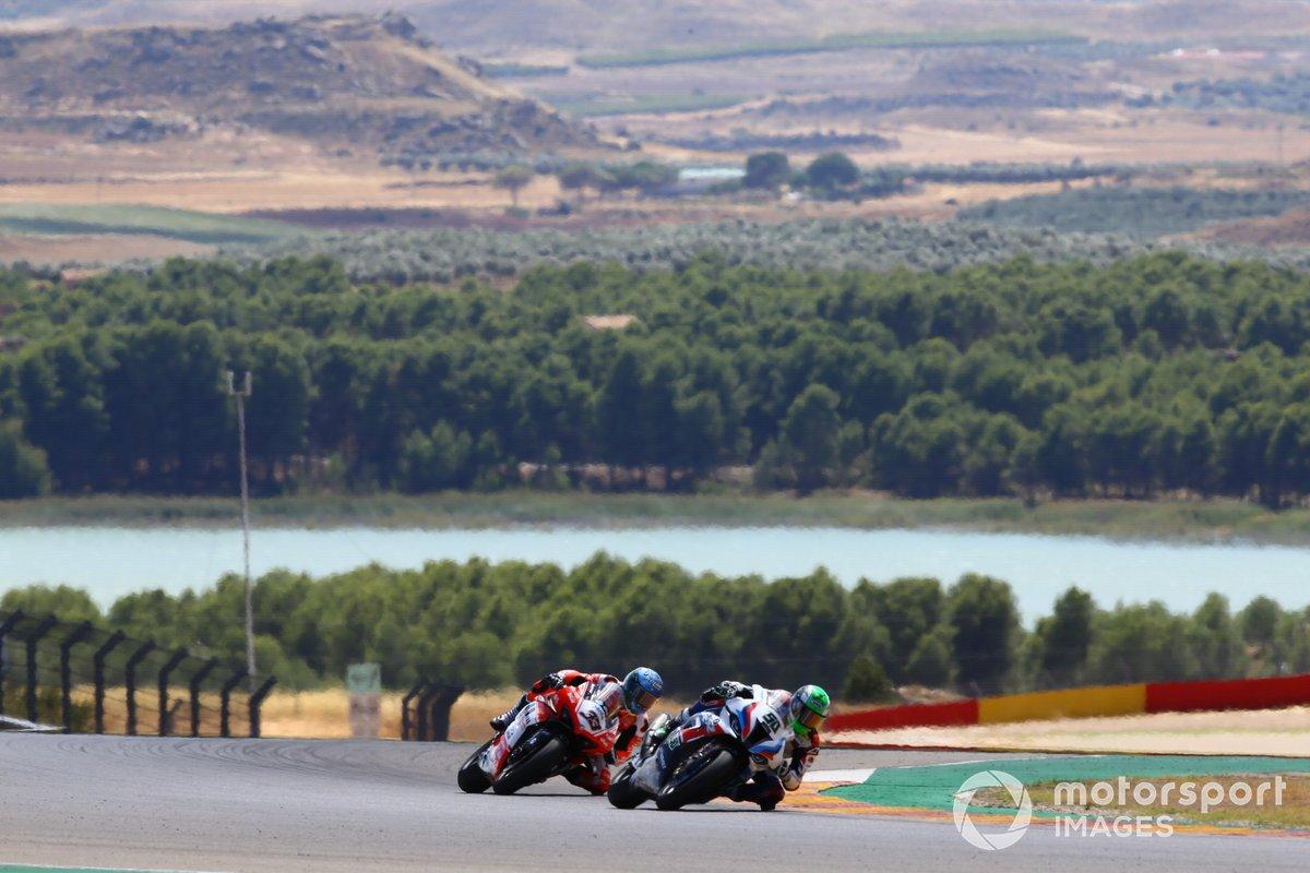 Eugene Laverty, BMW Motorrad WorldSBK Team, Marco Melandri, Barni Racing Team