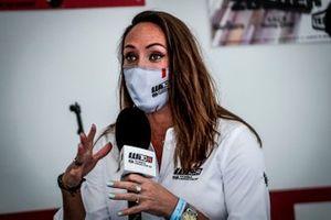 Legoiux Alexandra, TV press conference