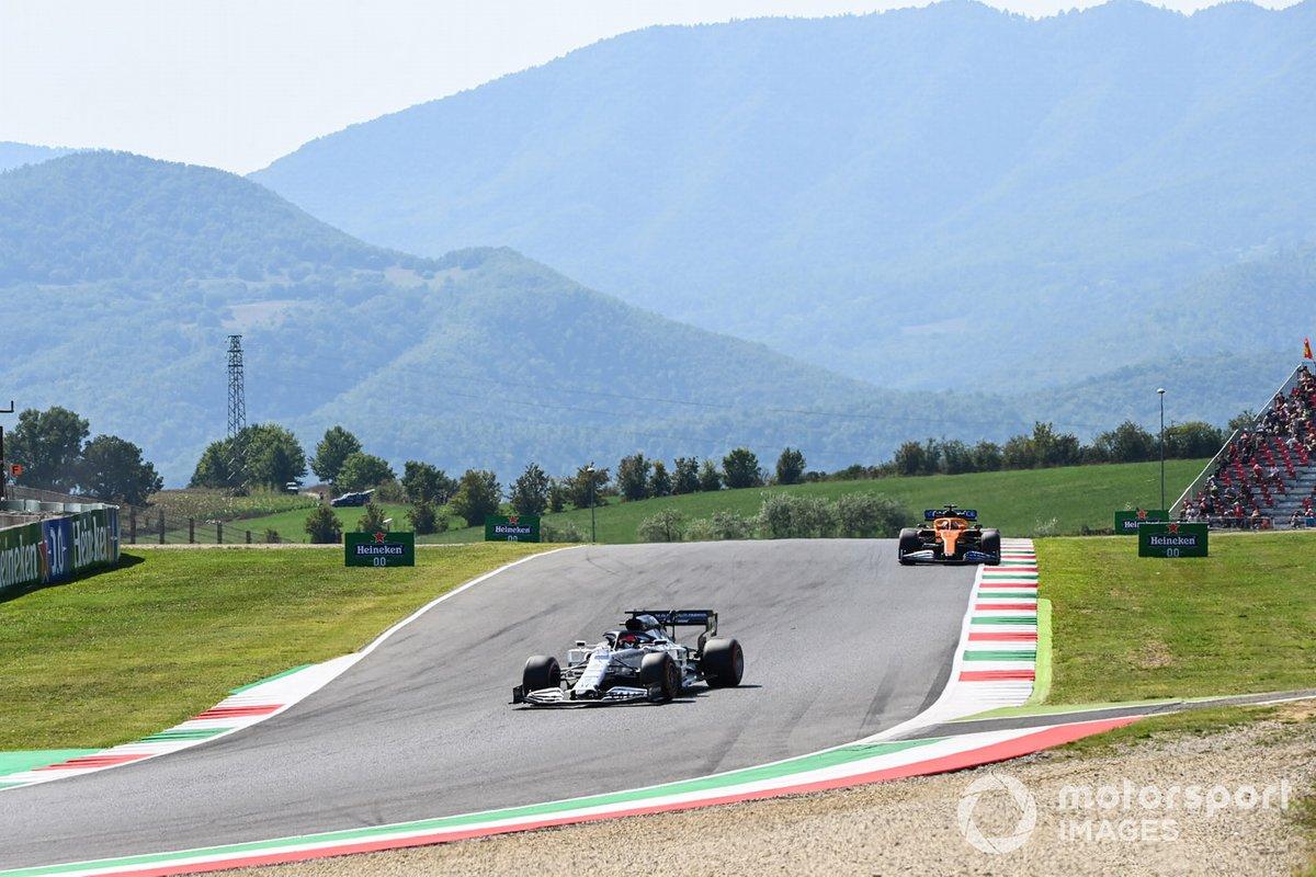Daniil Kvyat, AlphaTauri AT01 Carlos Sainz Jr., McLaren MCL35