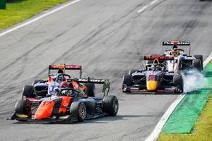 Richard Verschoor, MP Motorsport, Oliver Caldwell, Trident and Dennis Hauger, Hitech Grand Prix