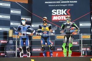 Jules Cluzel, GMT94 Yamaha, Andrea Locatelli, BARDAHL Evan Bros WorldSSP Team, Philipp Oettl, Kawasaki Puccetti Racing