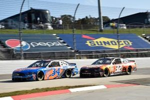 Michael McDowell, Front Row Motorsports, Ford Mustang CarParts, Corey LaJoie, Go FAS Racing, Ford Mustang Keen Parts