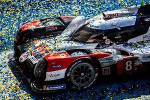 #8 Toyota Gazoo Racing Toyota TS050: Sebastien Buemi, Kazuki Nakajima, Brendon Hartley