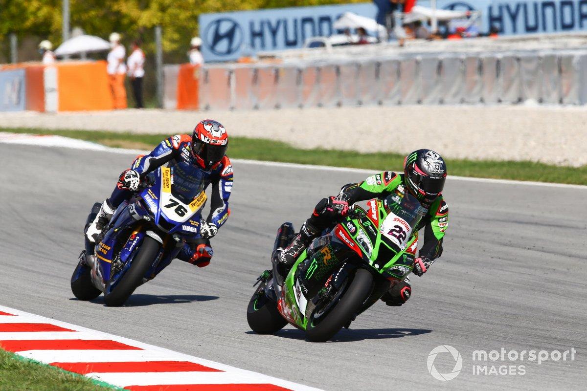 Alex Lowes, Kawasaki Racing Team, Loris Baz, Ten Kate Racing Yamaha