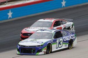 Ty Dillon, Germain Racing, Chevrolet Camaro GEICO, Garrett Smithley, Rick Ware Racing, Ford Mustang