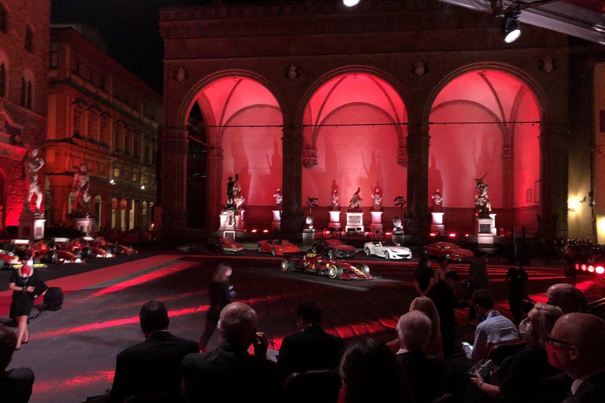 La celebración de las 1000 carreras de Ferrari en Fórmula 1
