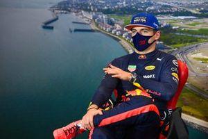 Max Verstappen, Red Bull Racing, in conferenza stampa dopo le Qualifiche
