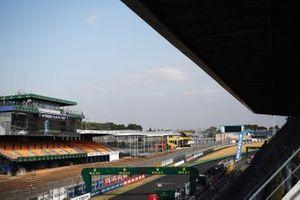 Le Mans circuit overview