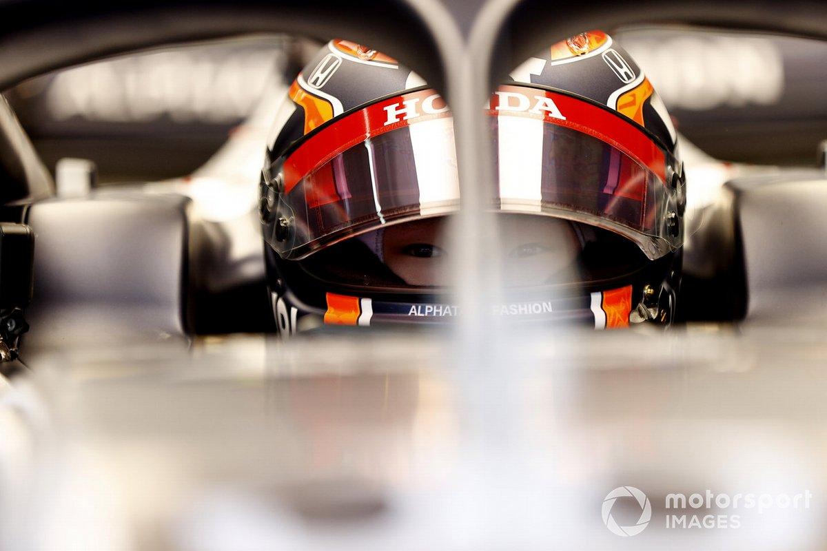 Yuki Tsunoda, Honda Formula Dream Project assis dans la monoplace