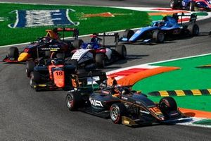 Jack Doohan, HWA Racelab, Bent Viscaal, MP Motorsport, Michael Belov, Charouz Racing System and Dennis Hauger, Hitech Grand Prix
