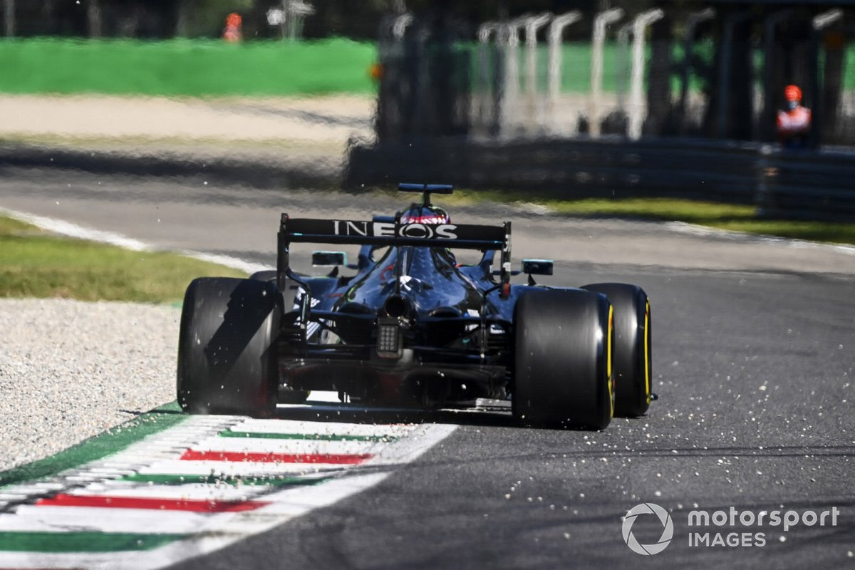 Italie - Lewis Hamilton, Mercedes