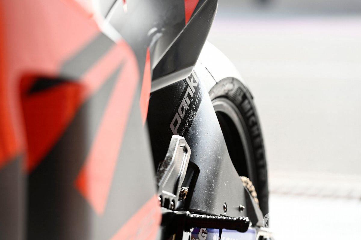 Dettagli della Tech3 KTM