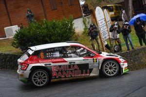 Antonio Rusce, Sauro Farnocchia, Gass Racing, Skoda Fabia Rally2 Evo
