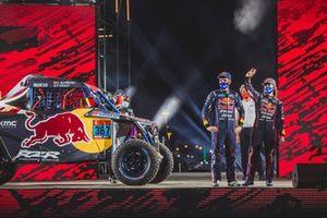#387 Red Bull Off-Road Team USA OT3: Cristina Gutierrez Herrero, Francois Cazalet