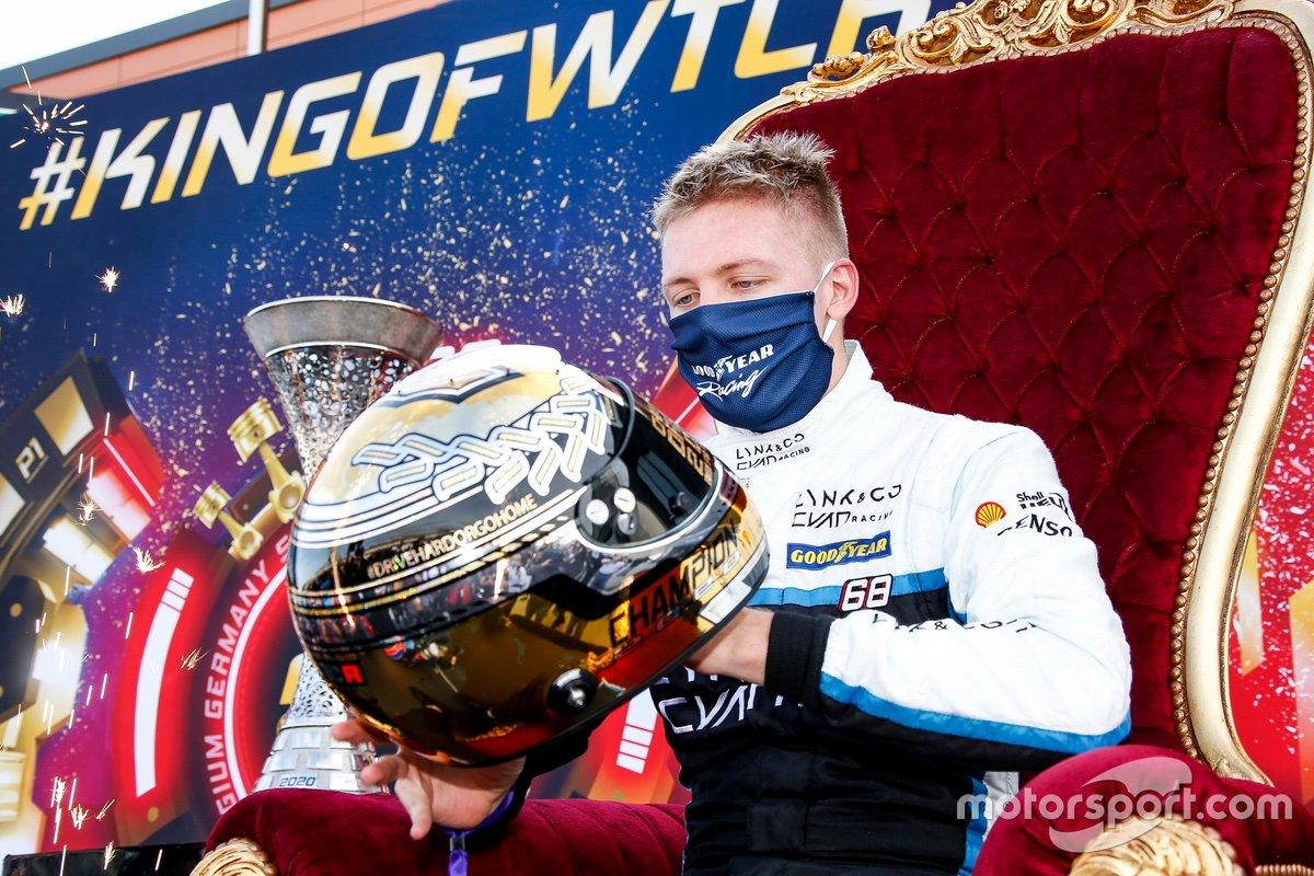 Yann Ehrlacher, Cyan Racing Lynk & Co 03 TCR, vince il campionato piloti