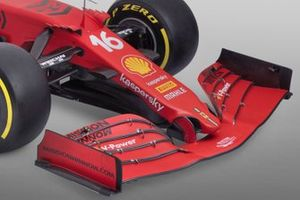 Ferrari SF21 Nose and Cape