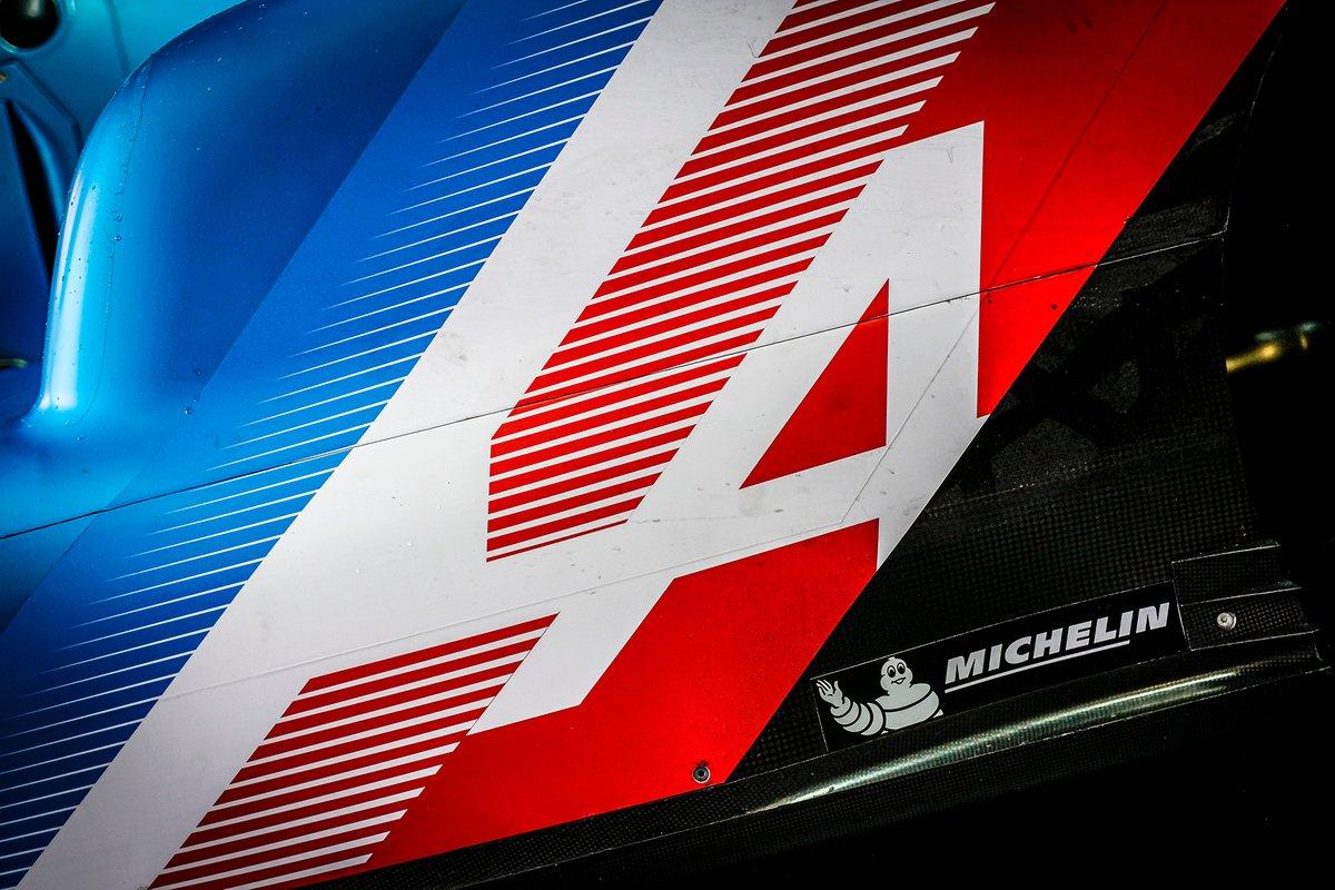 Gros plan sur l'Alpine A480 LMP1