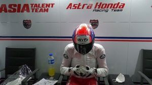 Mario Suryo Aji, Astra Honda Racing Team, FIM CEV Moto3 Junior 2020.