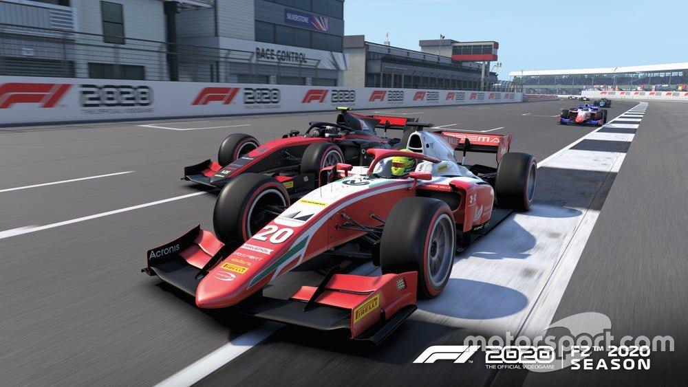 Imagen de la FIA F2 2020 en 'F1 2020'