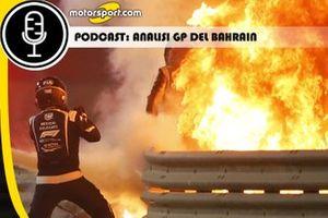 Cover Podcast Gara GP del Bahrain