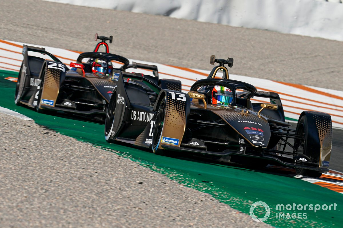 Antonio Felix da Costa, DS Techeetah, DS E-Tense FE20, Jean-Eric Vergne, DS Techeetah, DS E-Tense FE20