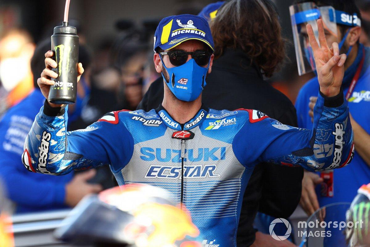 Secondo posto Alex Rins, Team Suzuki MotoGP