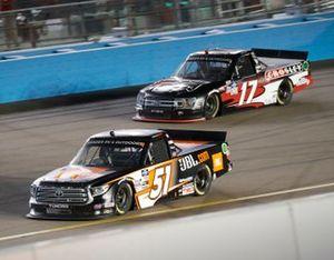 Chandler Smith, Kyle Busch Motorsports, Toyota Tundra JBL, Dylan Lupton, DGR-Crosley, Ford F-150 Crosley