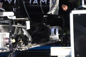 Williams FW43 rear brake detail