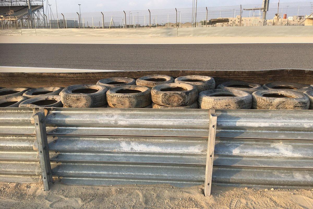 Nuevas protecciones de neumáticos en Sakhir (Bahrein)
