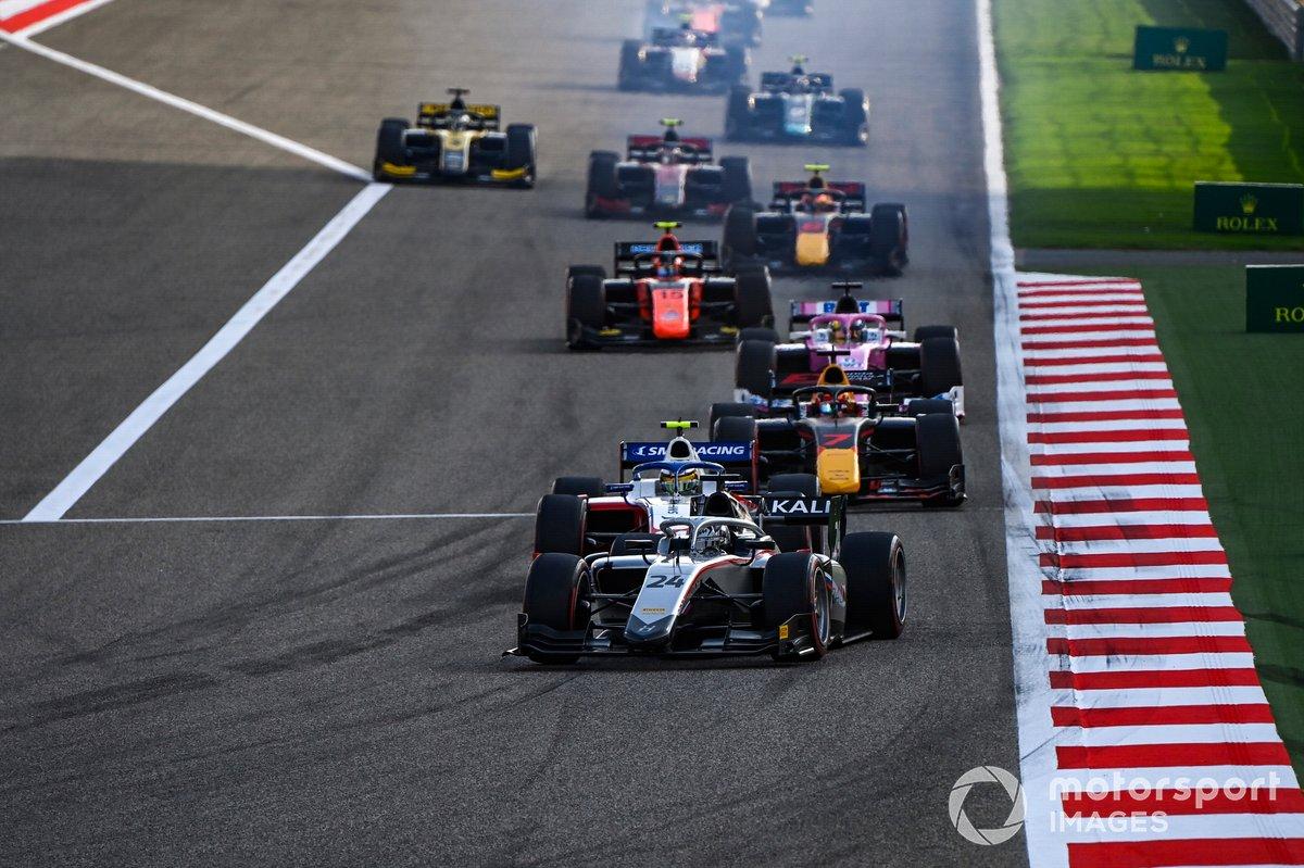Nikita Mazepin, Hitech Grand Prix, Robert Shwartzman, Prema Racing, Yuki Tsunoda, Carlin