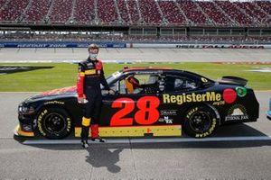 Joey Gase, SS Green Light Racing, Chevrolet Camaro Register Me