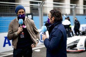 TV Presenter Vernon Kay, TV Pundit Dario Franchitti