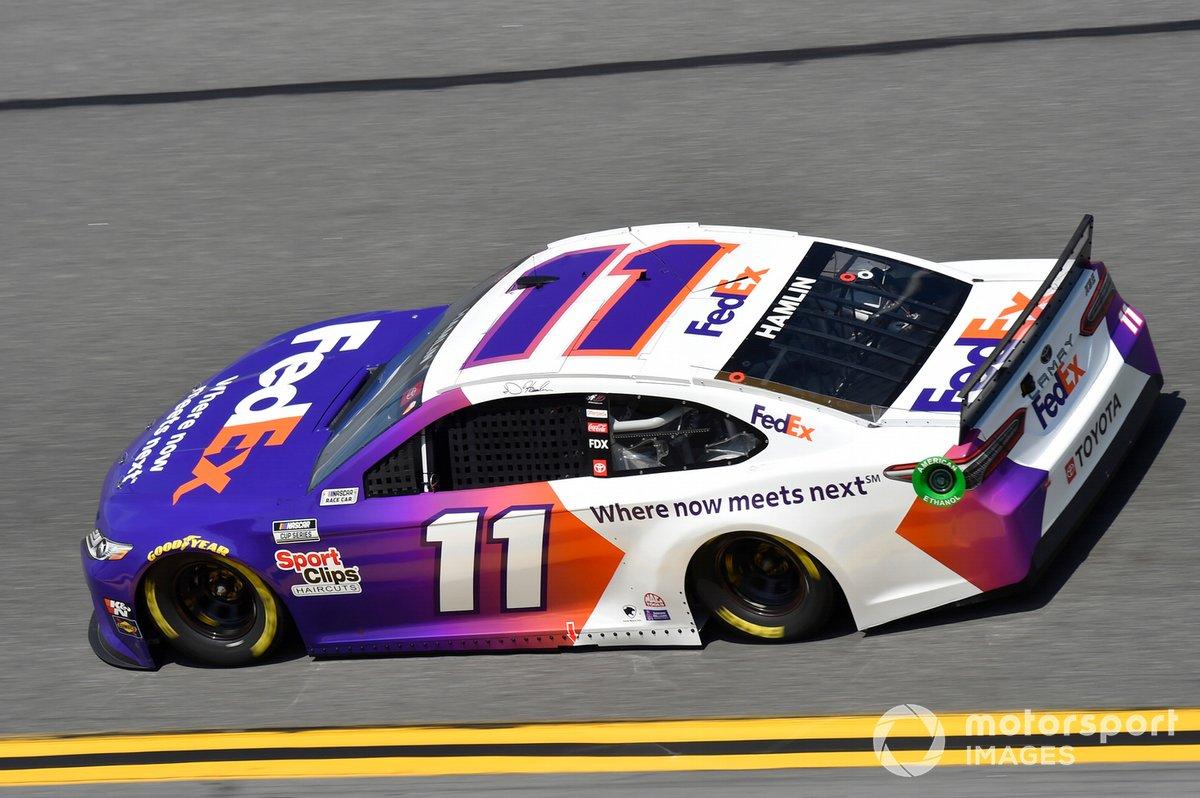 25. Denny Hamlin, Joe Gibbs Racing, Toyota Camry
