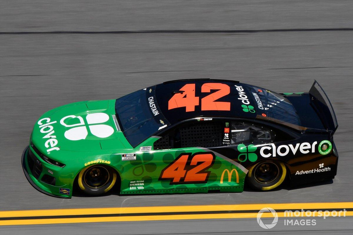 34. Ross Chastain, Chip Ganassi Racing, Chevrolet Camaro *