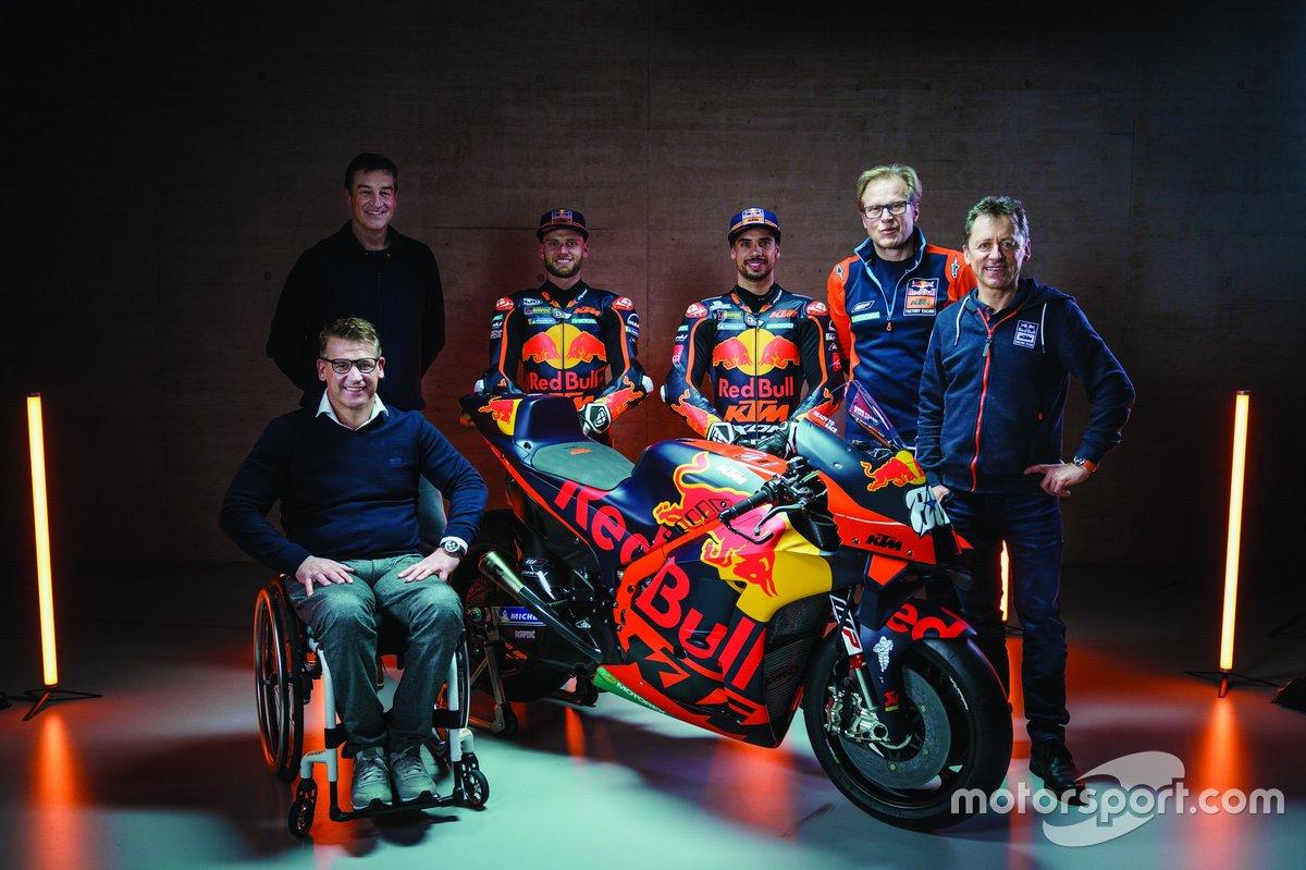 Pit Beirer, Kurt Trieb, Brad Binder, Miguel Oliveira, Wolfgang Felber, Mike Leitner, KTM Factory Racing