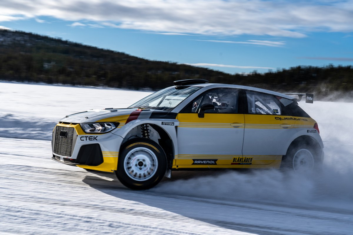 Audi Quattro A1 Rally2