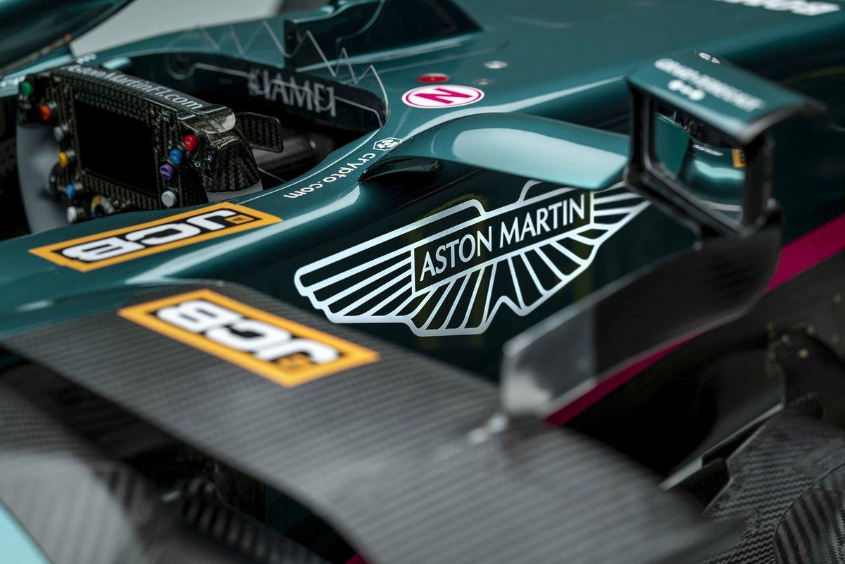 Detalle del Aston Martin AMR21